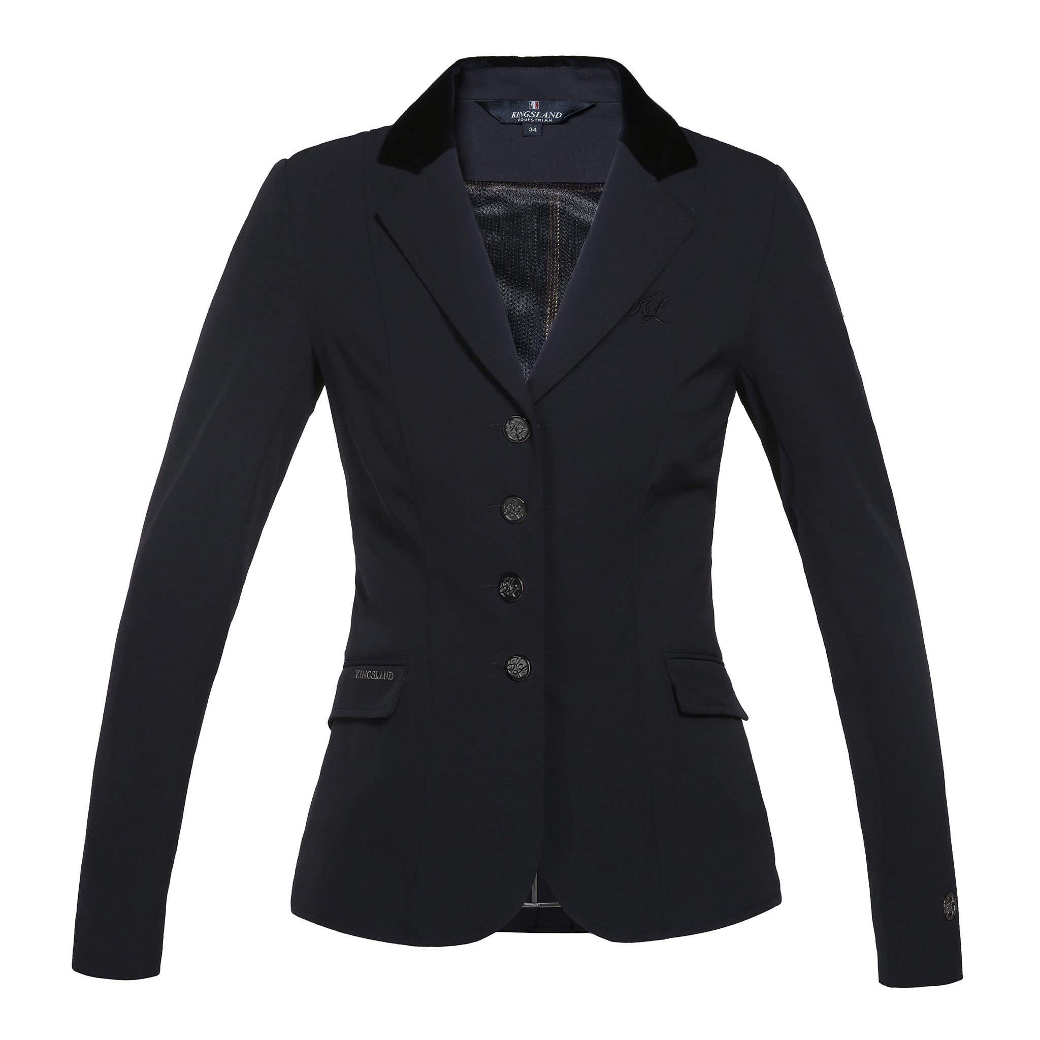 KINGSLAND ALESANDRA LADIES NAVY SHOW JACKET