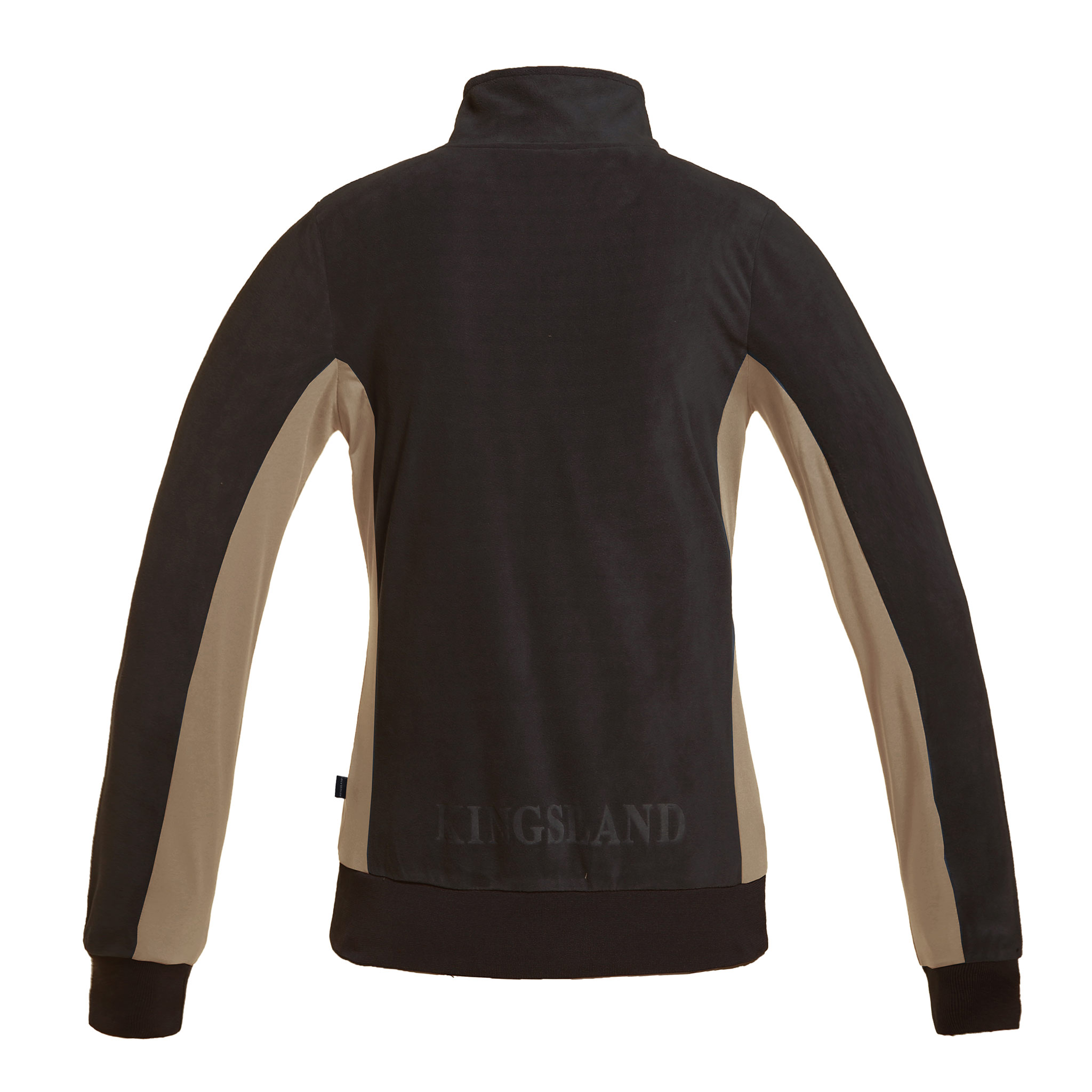 KINGSLAND ATHINA LADIES BROWN FLEECE JACKET