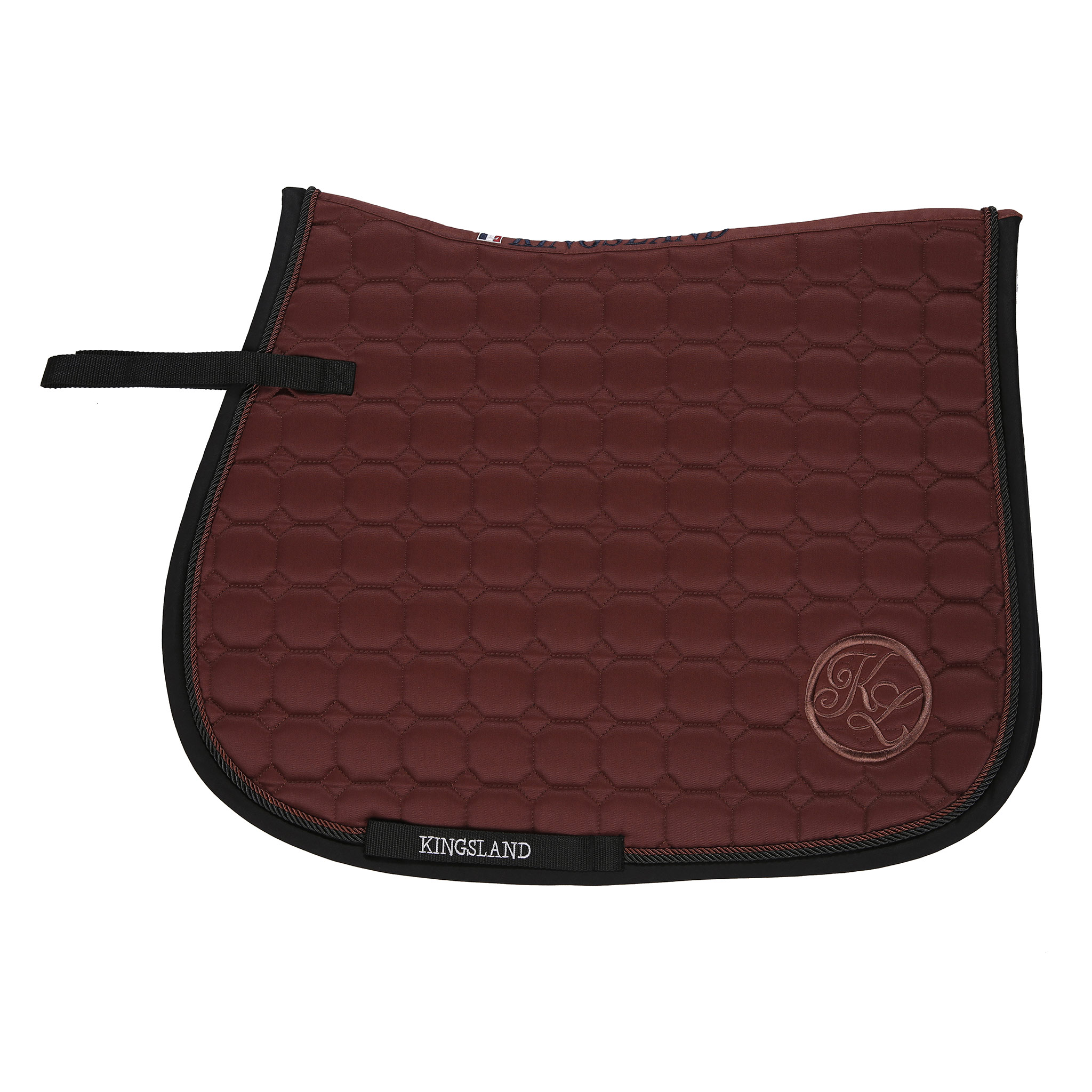 KINGSLAND EMMA BROWN SADDLE PAD