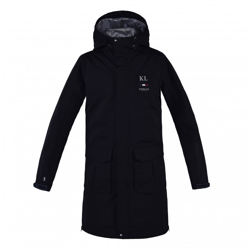 Kingsland Ejido Unisex Navy Waterproof Rain Jacket Efo